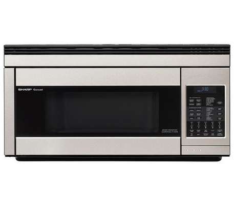 1 Sharp R 1874 Over The Range Microwave